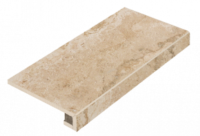 Italon Natural Life Stone Almond Scalino Frontale