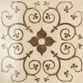 Italon Charme Floor Project Cream Inserto Bouquet