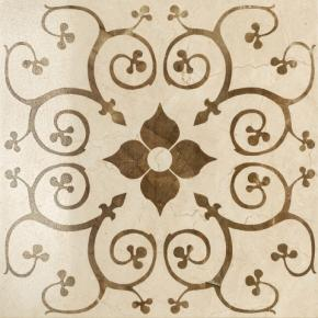 Italon Charme Floor Project Cream Inserto Bouquet Lux