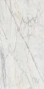 Grande Marble Look Golden White Satin