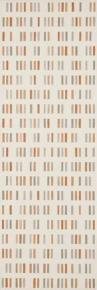 Colourline Ivory/Taupe/Orange Decoro