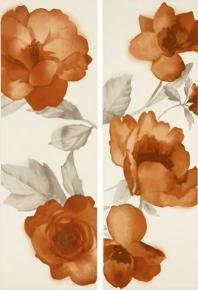 Colourline Ivory/Orange Decoro