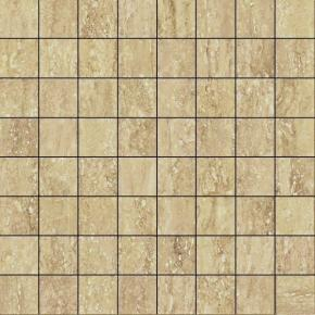 Italon Travertino Floor Project Romano Mosaico Lux
