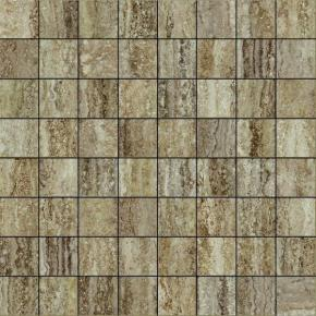 Italon Travertino Floor Project Silver Mosaico Lux
