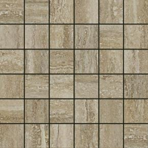 Italon Travertino Floor Project Silver Mosaico