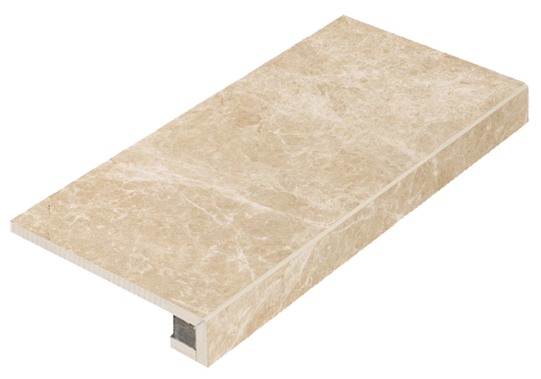Italon Elite Floor Project Champagne Cream Scalino Frontale
