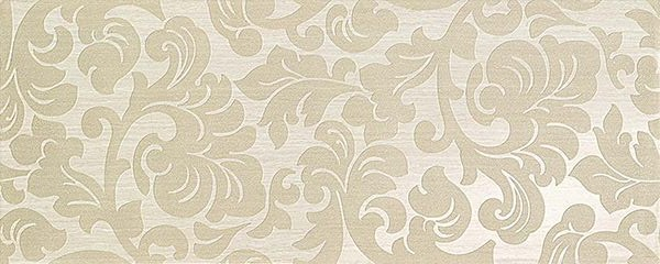 Atlas Concorde Sinua Wall Damask White